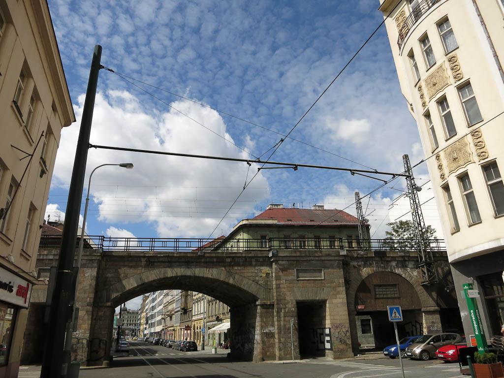 Near Florenc Metro