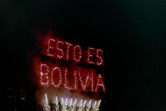 Bolivia fireworks